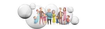 family bubble