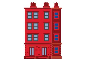 apartment house type